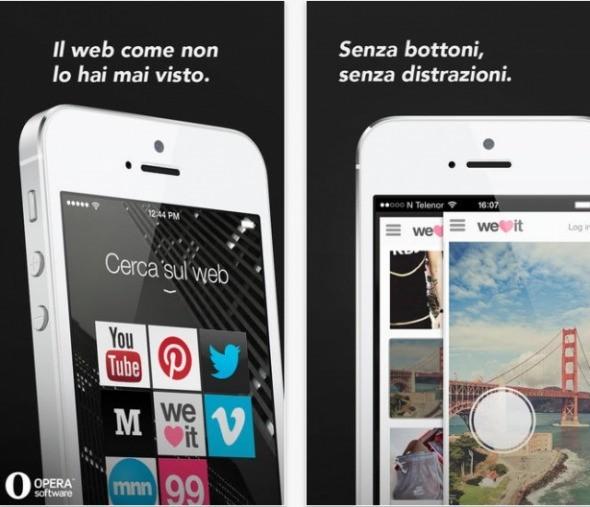App del giorno | Opera Coast web browser