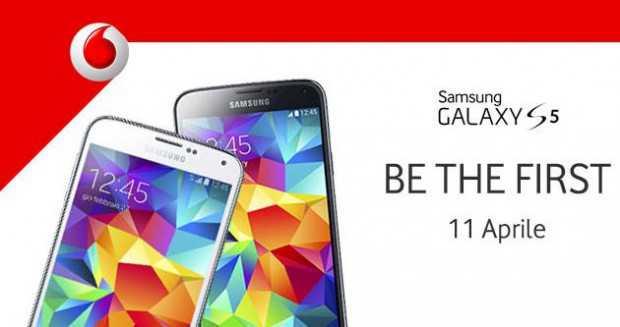 Samsung Galaxy S5 gold in esclusiva con Vodafone