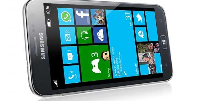 Samsung ATIV SE con Windows Phone 8, ecco le specifiche dettagliate