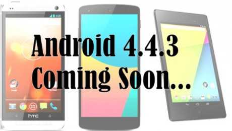 Android 4.4.3 KitKat per la gamma Nexus in arrivo il 23 Maggio?