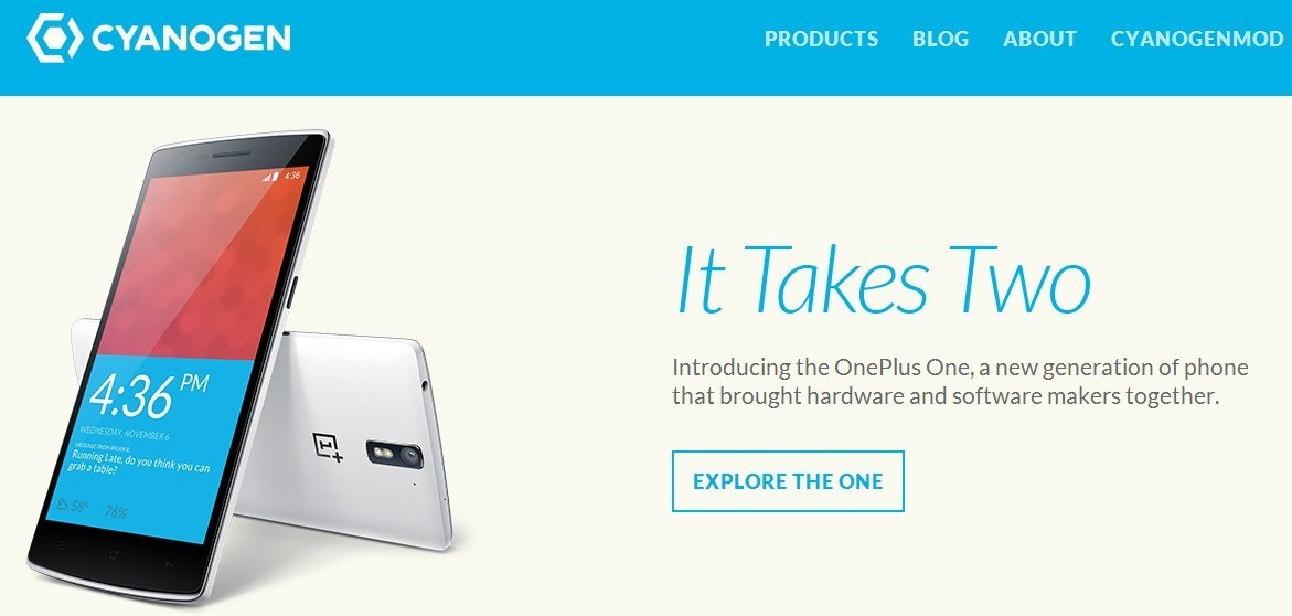 CyanogenMod arriva il sito ufficiale con protagonista OnePlus One!