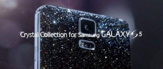 Samsung lancia Galaxy S5 Crystal a Maggio