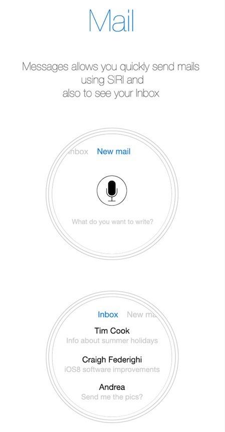 iWatch Mail