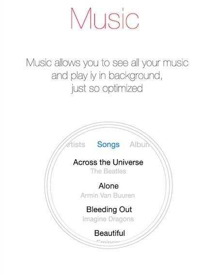 iWatch Musica