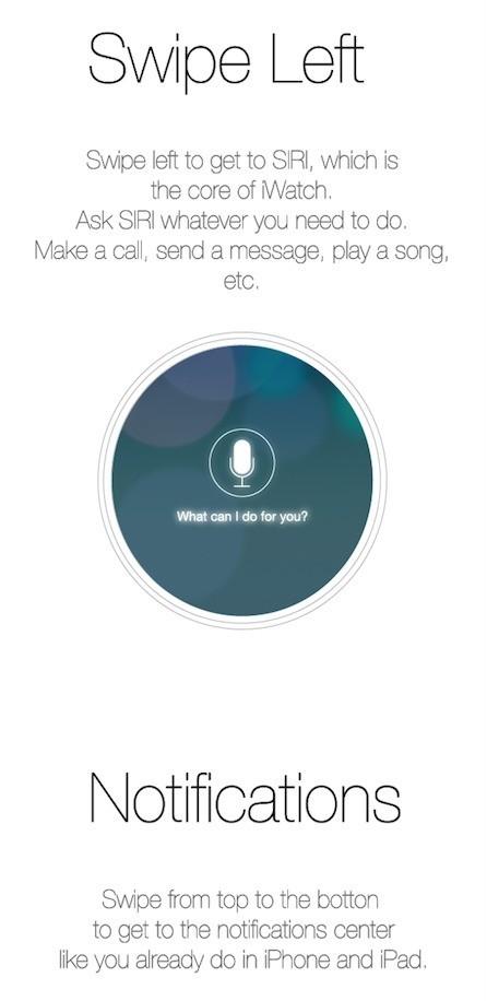 iWatch Siri