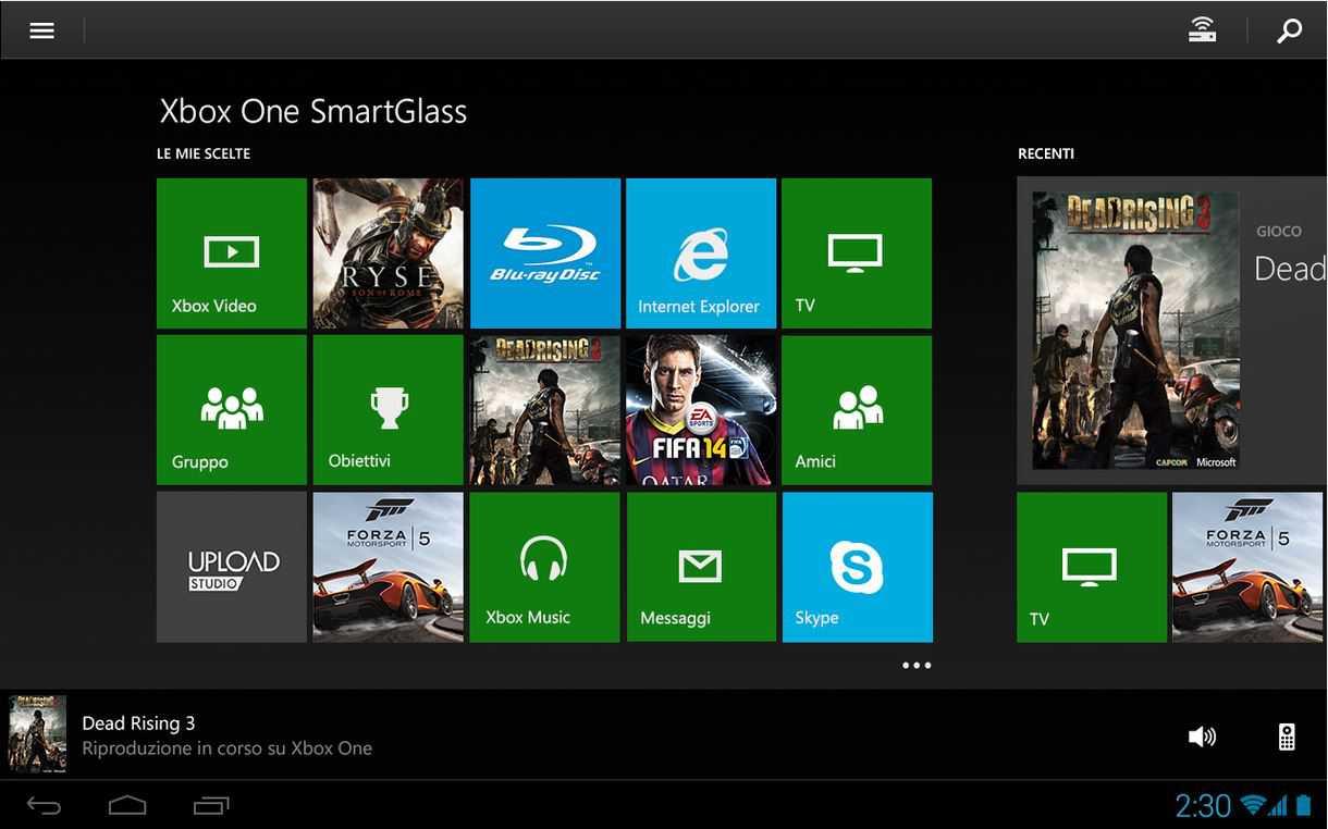 Xbox One SmartGlass | Disponibile una nuova versione beta per Android