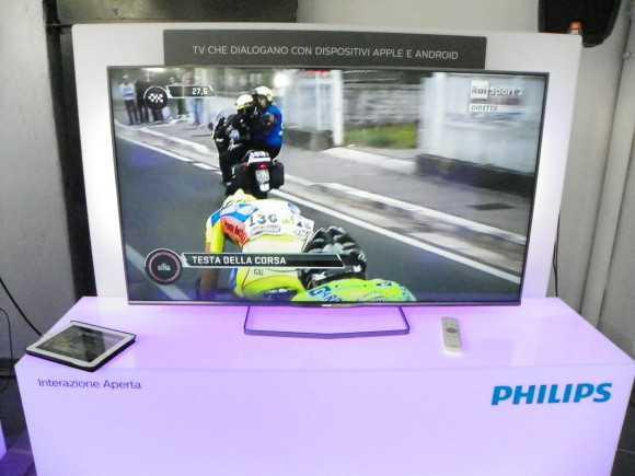 TP Vision a Milano presenta la collezione TV Philips 2014