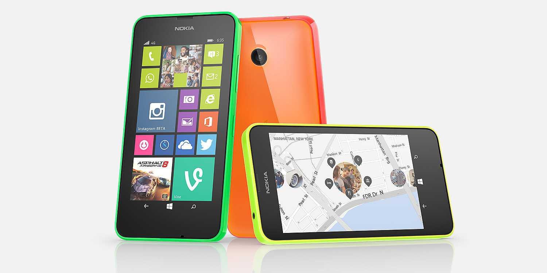 Nokia, il nuovo Lumia 635 visto in un video promo