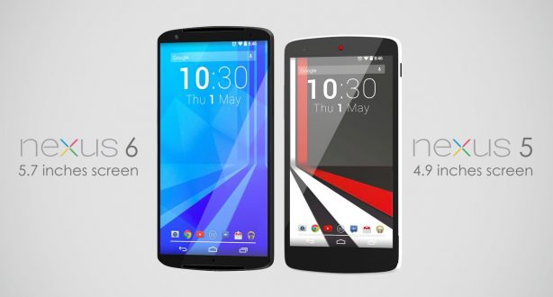 Concept Nexus 6 con display da 5,7 pollici e lo stile HTC