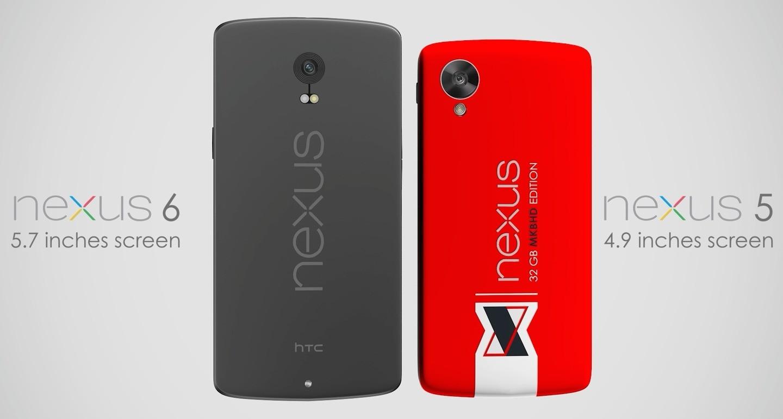 Concept Nexus 6 con display da 5,7 pollici e lo stile HTC ...