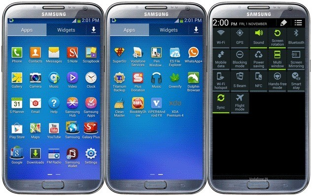 Nuova guida Completa per trasformare un Samsung Galaxy Note II in Note 3 con Android 4.4 KitKat! (Download)