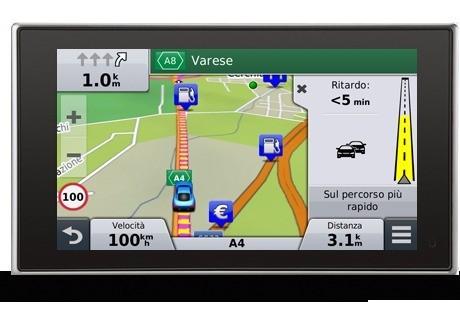 Garmin offre il Traffico Live Gratis per sempre