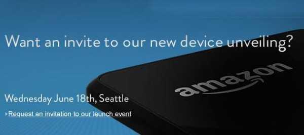 Amazon il 18 giugno presenterà il suo primo Smartphone