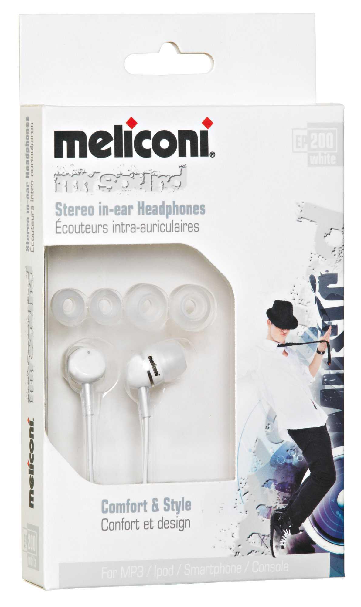 Meliconi presenta gli auricolari in-ear My Sound