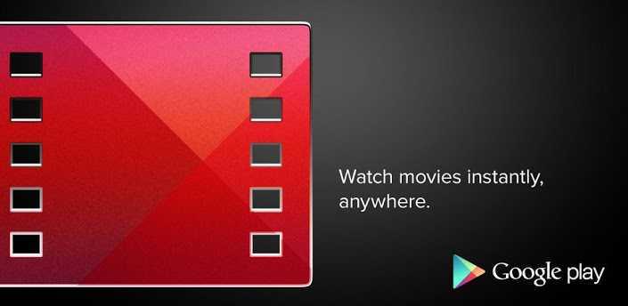 Google Play Film e TV si aggiorna con le schede per film, attori e colonne sonore!