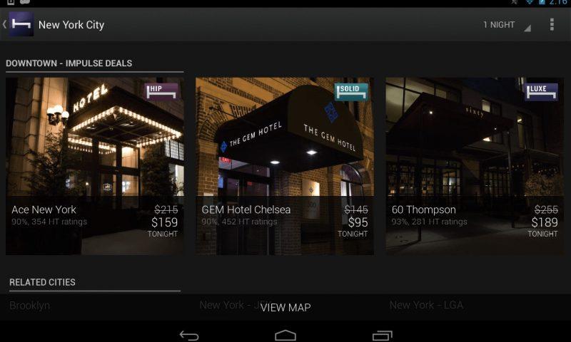 HotelTonight: l'app per Windows Phone per prenotazioni last minute