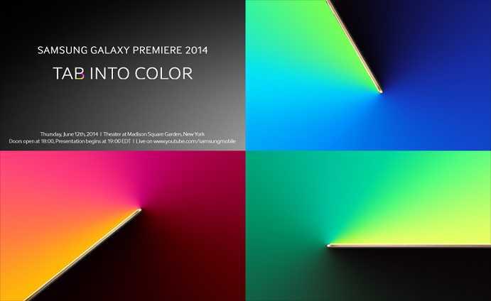 Samsung Galaxy Tab S in diretta Streaming