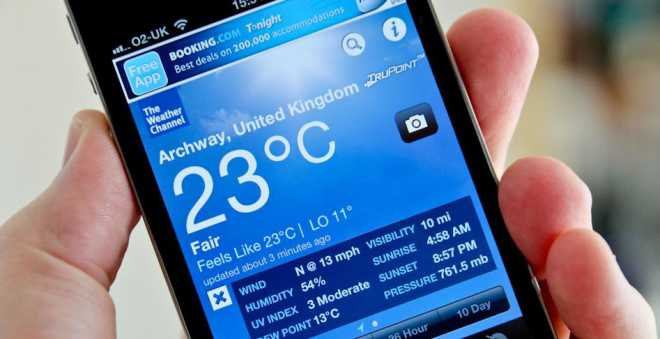 The Weather Channel sostituirà Yahoo Meteo su iOS 8?