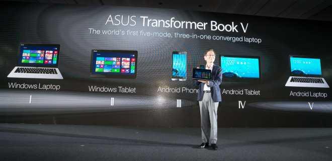 Asus Transformer Book V | Arriva il tuttofare 5 in 1 Android e Windows 8 !