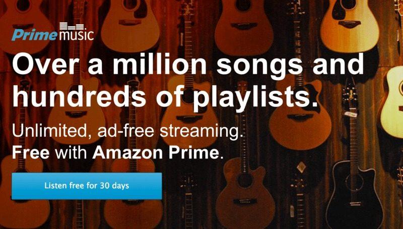 Amazon Prime Music, il nuovo servizio musicale in straming gratuito per gli utenti Prime