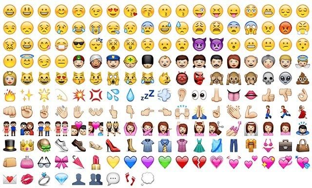 Arrivano 250 nuove emoji pensate anche per insultare con lo standard Unicode 7.0