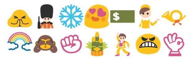 250 nuove emoji