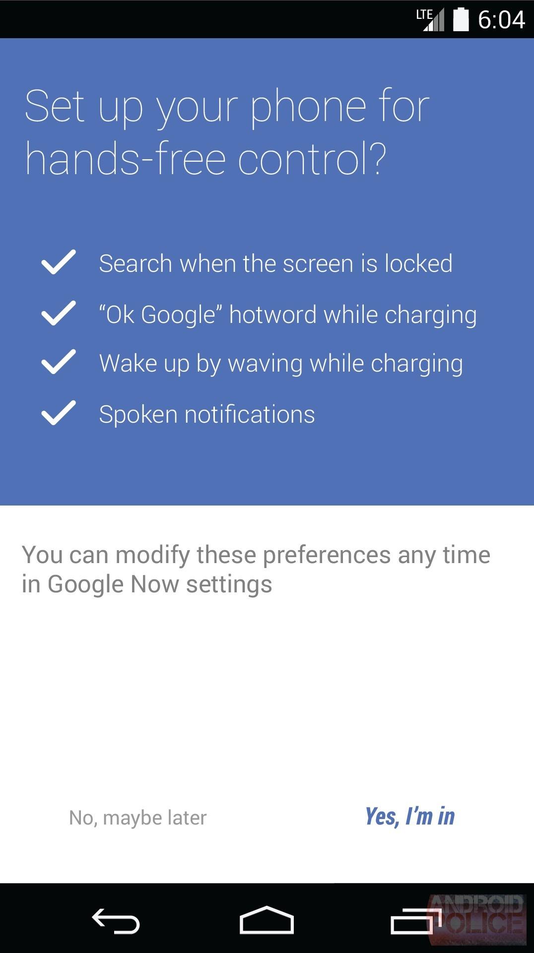 """Ok Google"" in arrivo anche a display spento grazie a KITT?"