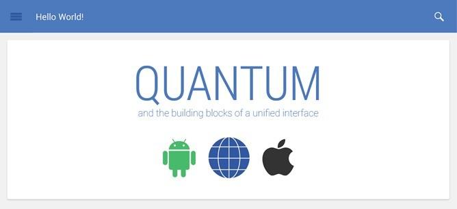 Quantum Paper, in arrivo il nuovo design Android che sostituirà Holo