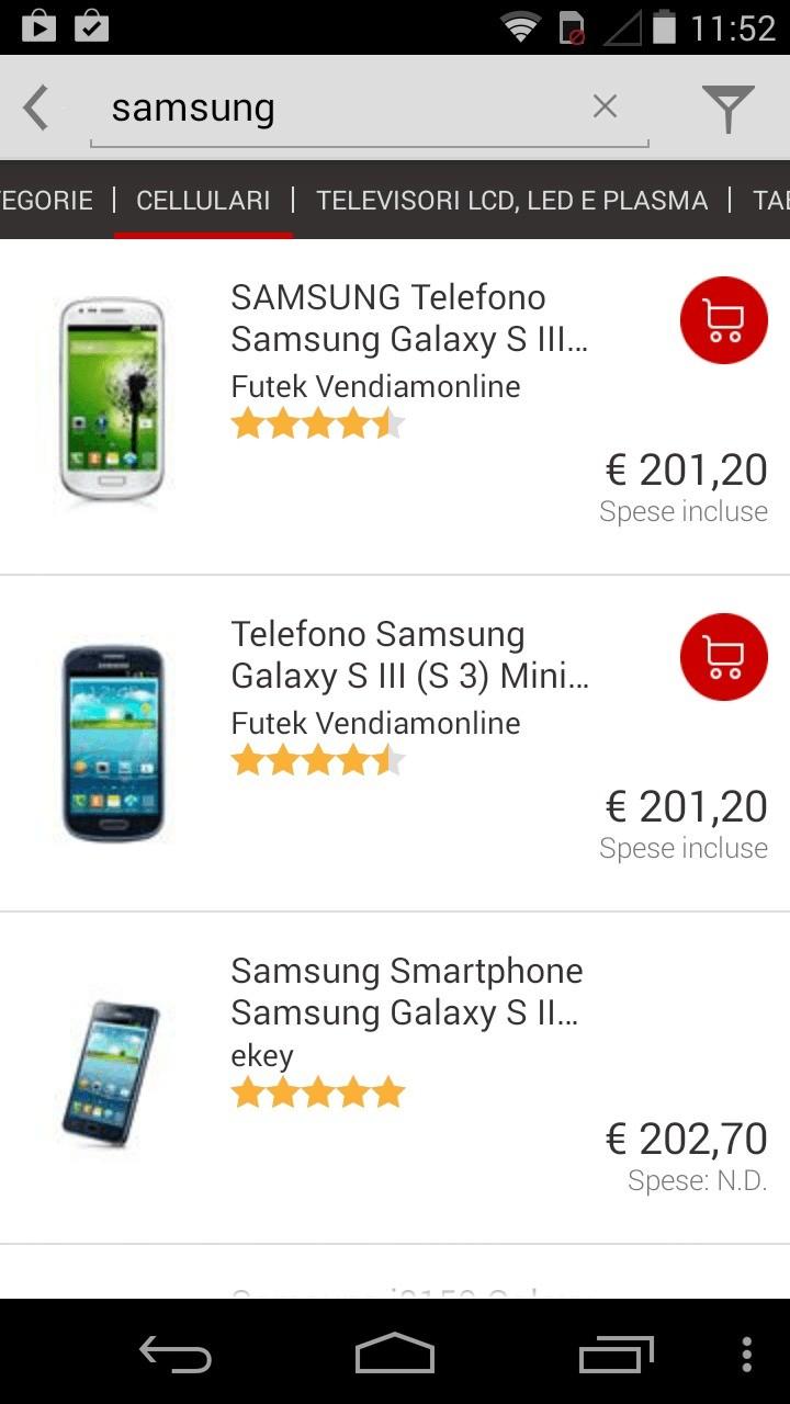 Trovaprezzi per Android si rinnova: più facile acquistare in mobilità