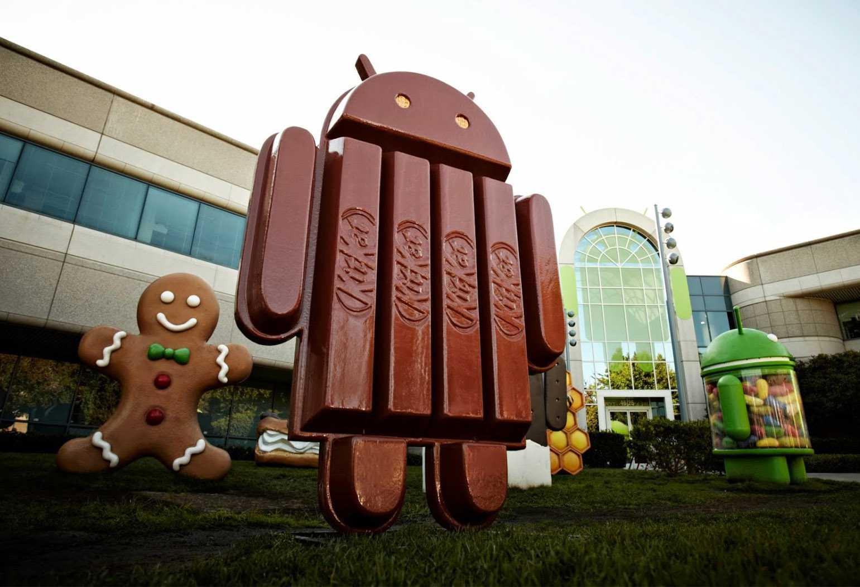 Android KitKat continua a crescere toccando quota 17.9% a Luglio