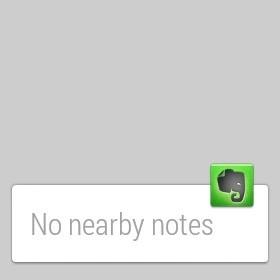 Evernote per Android Wear: arrivano le note a portata di polso