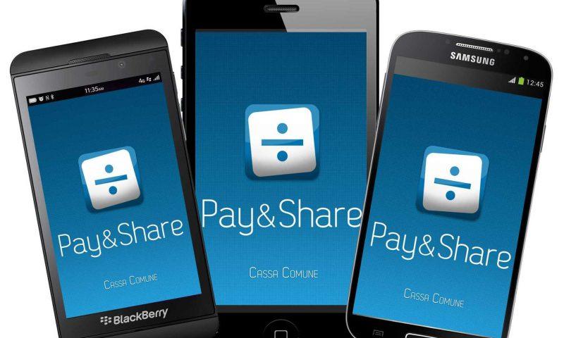 Nasce Pay&Share 3.0, per dispositivi iOS, Android e Blackberry