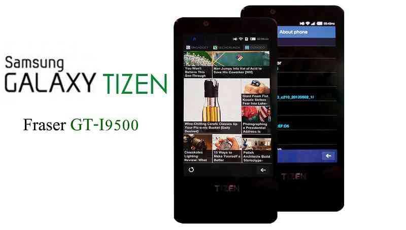 Nuovo smartphone Tizen (SM-Z130H) in test per le prove
