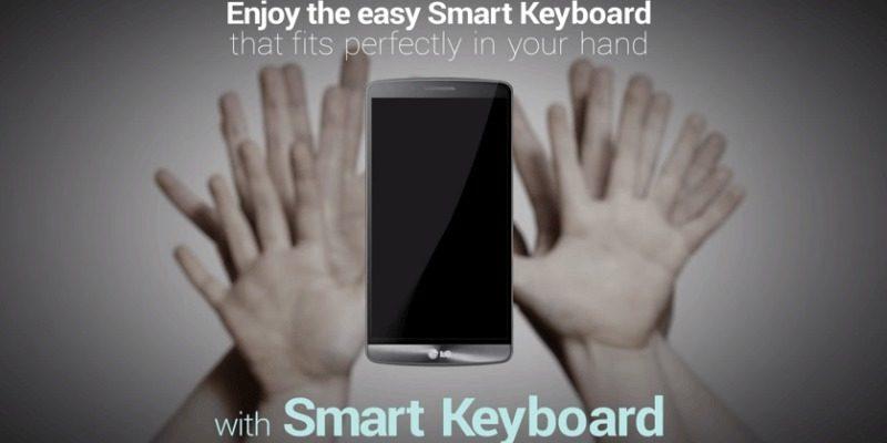 LG G3 si aggiorna per migliorare la Smart Keyboard