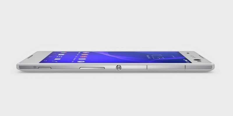 Sony Xperia C3, il primo selfie phone è ufficiale