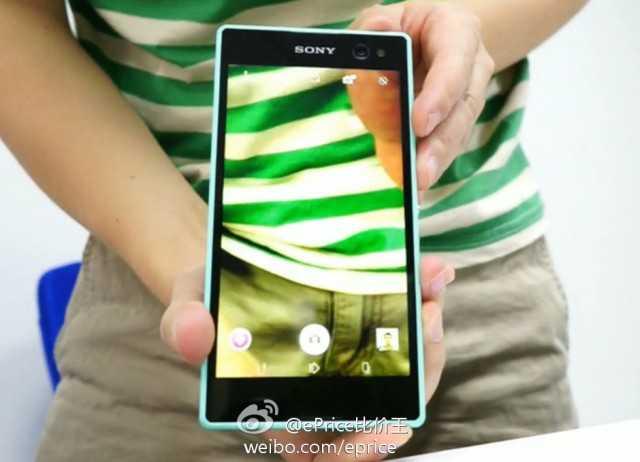 Ecco foto e video del telefono di Sony Xperia dedicato ai Selfie