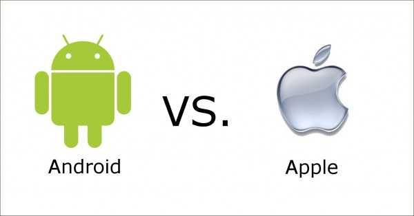 Android vs Apple: il robottino re nel download App, ma la mela fa guadagnare di più
