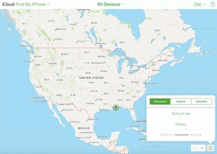 Trova il mio iPhone utilizzerà Mappe di Apple in sostituzione di Google Maps