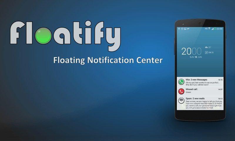 Floatify porta le notifiche di Android L sui dispositivi Android senza root!