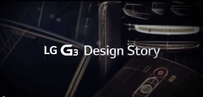 Video ufficiale mostra la storia del design di LG G3