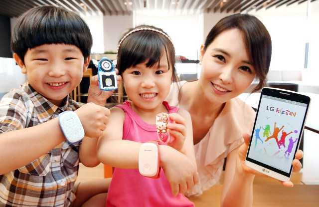 Arriva LG KizOn dispositivo indossabile per controllare i propri bambini