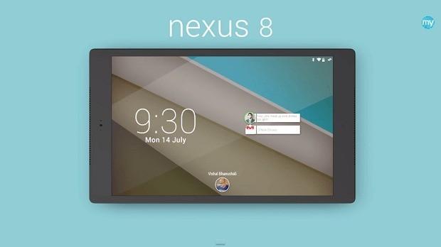 Nexus 8 per Android L: eccolo in un video-concept