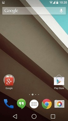 smartphone Android L