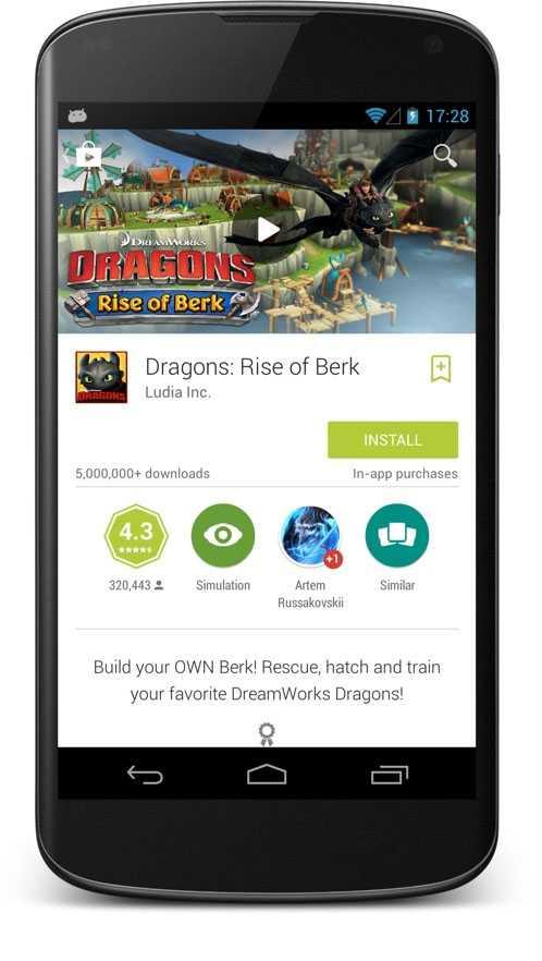 Google Play Store si aggiorna con la nuova interfaccia Material Design
