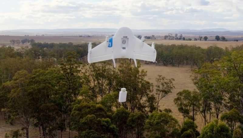 Presentato da Google Project Wing , in arrivo i droni per le consegne