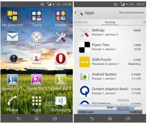 del rilascio da parte di Sony dell'aggiornamento ufficiale 20.1.A.0.47 che porta Android 4.4.2 KitKat per Xperia E1.