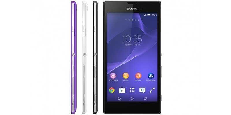 Sony Xperia T3 arriva ufficialmente anche in Italia a 399 euro