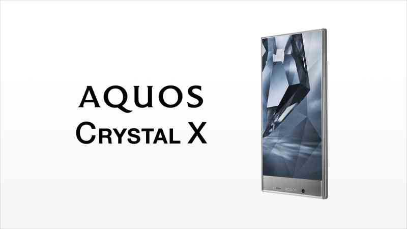 Sharp Aquos Crystal, arriva lo smartphone senza cornici!