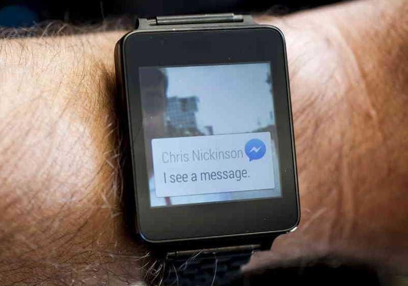 Facebook Messenger per Android Wear