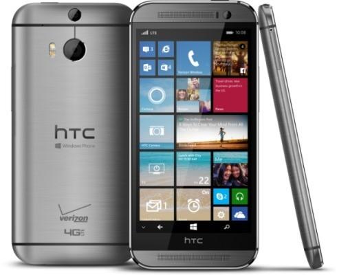 HTC One M8 con Windows Phone